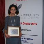 Maria Annita-BAFFA- premiata- a- Stresa