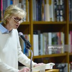 """CORAL GABLES, FL - FEBRUARY 20: Author Siri Hustvedt discussing and sign copies of her new book """"A Woman Looking at Men Looking at Women: Essays on Art, Sex, and the Mind"""" at Books and Books on February 20, 2017 in Coral Gables, Florida. (Photo by Johnny Louis/FilmMagic)"""
