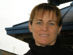 Mery, l'animatrice del bicigrill