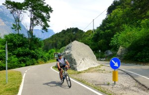 Nella ciclabile Petramurata - Drò