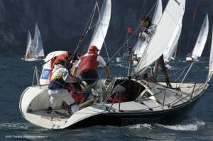 """Il mio Fun """"Whisper"""" ITA 526 in regata"""