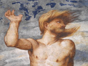 Romanino - Nudo Virile - Affresco