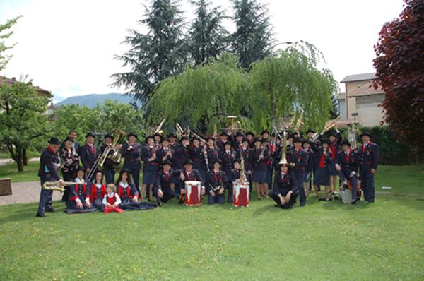 600-Banda Mezzolombardo 2011