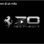 """MOTORI: Guarda il video """"Ferrari, 70 anni di un mito"""""""