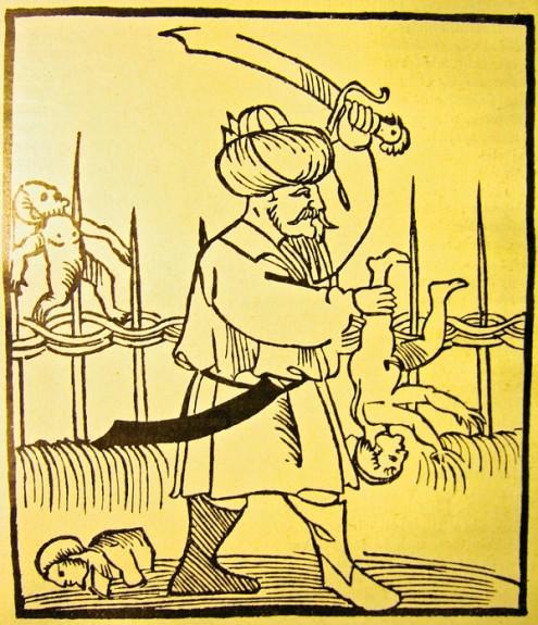Infanticidio, antica raffigurazione del 1530 - fonte: Wikimedia