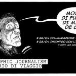 MANUEL DE CARLI AL SOCIAL STONES: Tra graphic journalism e diario di viaggio.