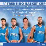 TRENTINO BASKET CUP: Il basket europeo all'ombra del Nettuno fino al 1 agosto 2015