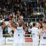AQUILA BASKET: Reggio Emilia passa 80-84 al PalaTrento