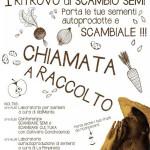 CHIAMATA A RACCOLTO: domenica 8 novembre scambia le tue sementi autoprodotte a Arco