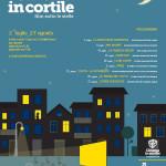 CINEMA IN CORTILE: tornano a luglio i film sotto le stelle