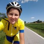 Lucia Bruni, in bicicletta da Roma a Bruxelles per i 60 anni dell'UE