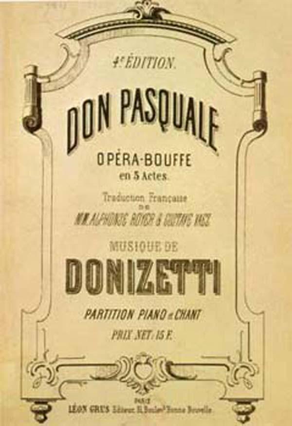 Gaetano Donizetti - L'Élixir D'Amour