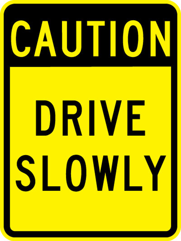 600 drive slowly