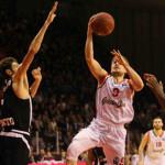 AQUILA BASKET: incontenibile a Reggio, vince 72-84 ed è già prima e qualificata agli ottavi di Eurocup