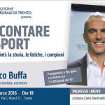 CINEMA VITTORIA: Serata con Federico Buffa. Il narratore dello sport