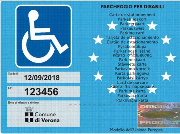 600 pass disabili
