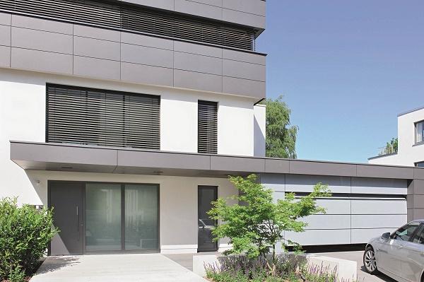 Trento blog hoermann for Facciate case moderne