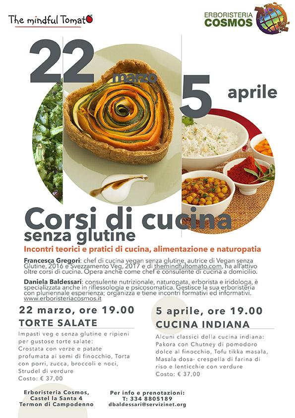 TORTE SALATE E CUCINA INDIANA – 22 marzo e 5 aprile TERMON DI CAMPODENNO