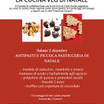 ANTIPASTI E PICCOLA PASTICCERIA DI NATALE veg e senza glutine