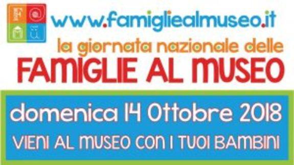 DOMENICA 14 OTTOBRE: FAMIGLIE AL MUSEO