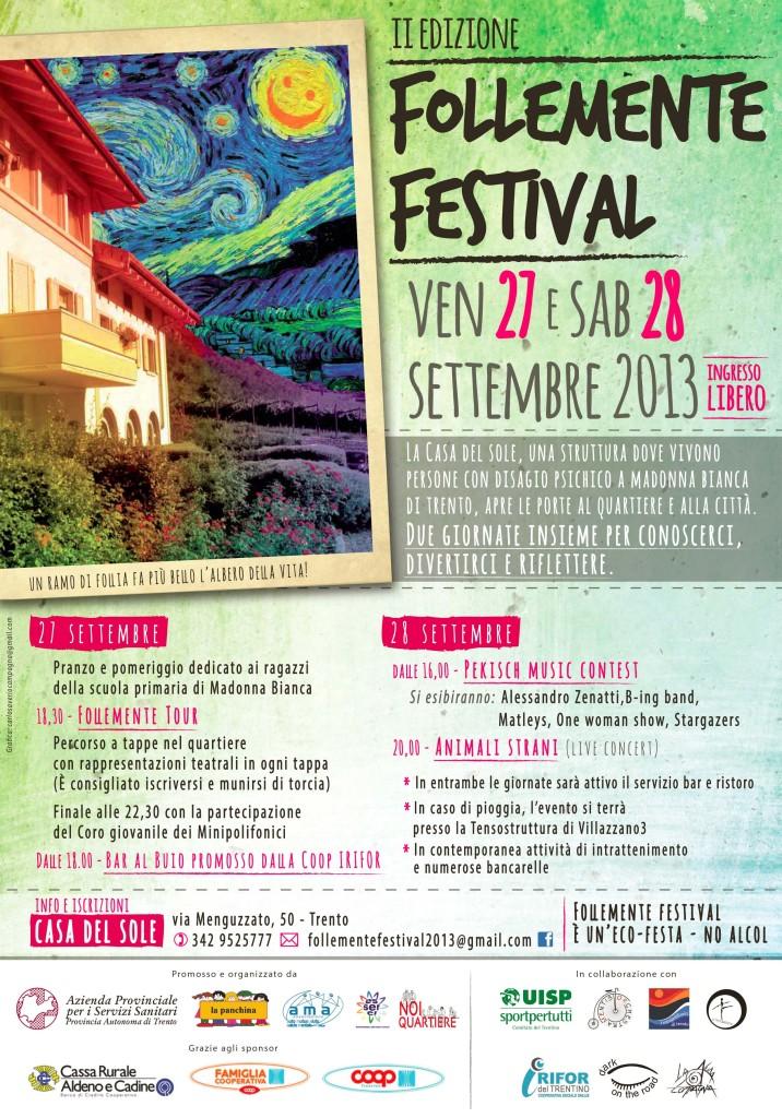 150copie_Follemente Festival 5 - locandina