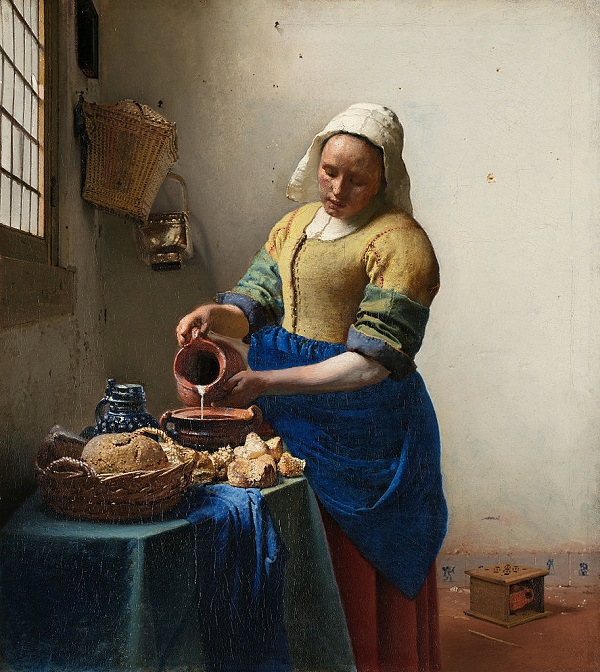 Jan Vermeer, La lattaia, 1660