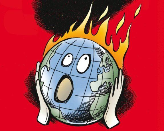 La terra brucia: la negazione del cambiamento climatico nell'era Trump