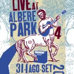 LIVE AT ALBERE PARK <br/> Aldeno – 31 agosto, 1 settembre 2012