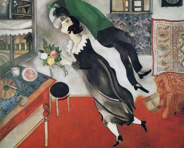Marc Chagall, Il compleanno, 1915