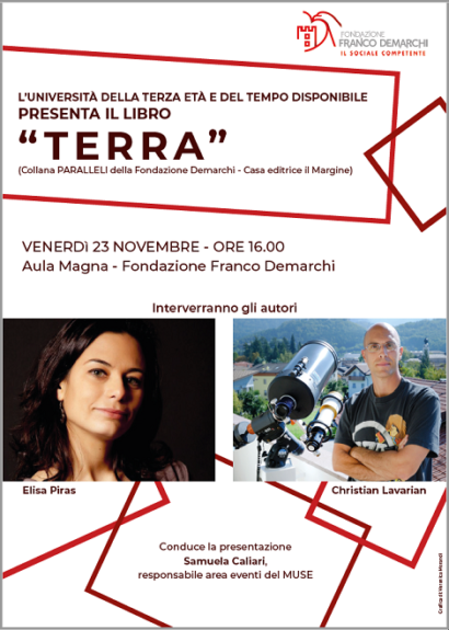 """Alla fondazione Demarchi la presentazione del libro """"TERRA"""""""