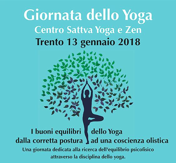 Giornata dello Yoga Centro Sattva Trento