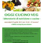 LABORATORIO DI CUCINA E NUTRIZIONE VEG – II° APPUNTAMENTO