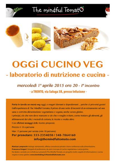 Laboratorio di cucina e nutrizione veg
