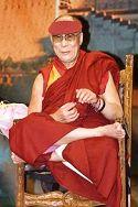 Il Dalai Lama. Foto di Luca Galuzzi - fonte Wikipedia