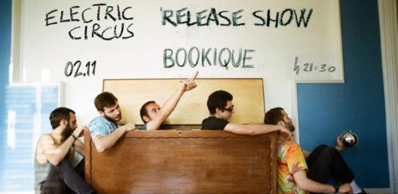 """Alla Bookique gli Electric Circus presentano il nuovo album musicale """"Canicola"""""""