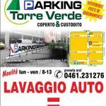 LAVAGGIO AUTO TRENTO: al Parking Torre Verde puoi lavare la tua auto e le due ore di sosta sono gratis