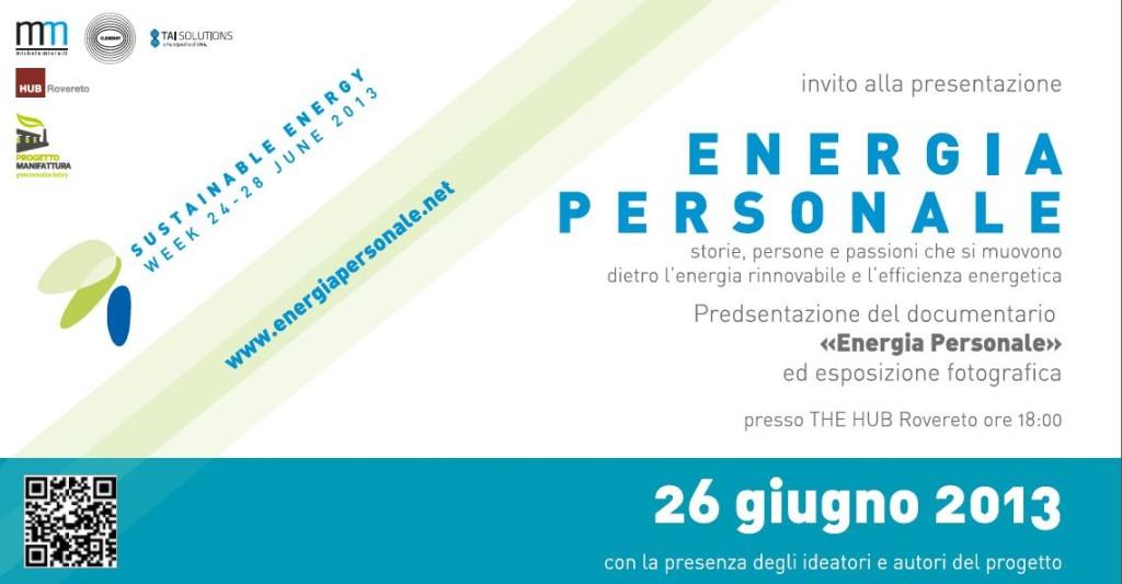invito energia personale