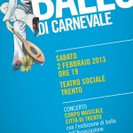 GRAN BALLO DI CARNEVALE <br/> Teatro Sociale di Trento – 2 febbraio 2013