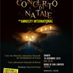CONCERTO DI NATALE <br/> Per Amnesty International