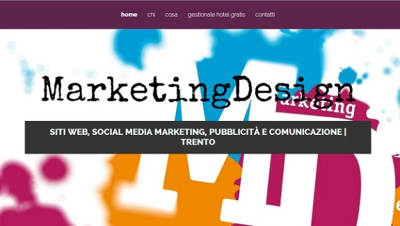 siti web trento marketing design