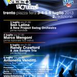 TRENTO SUMMER FESTIVAL <br/> 3-4-5-6 luglio 2013